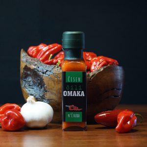 Moj Čili omaka Česen